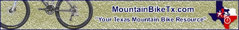 MountainBikeTx.com horizontal banner - Bike
