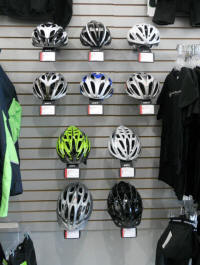 In the market for a new helmet? Check out your local bike shop!