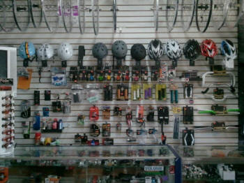You'll be surprised at the great stuff you'll find at your local bike shop