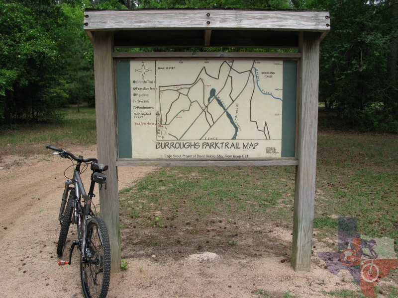 MountainBikeTx Trails Gulf Coast